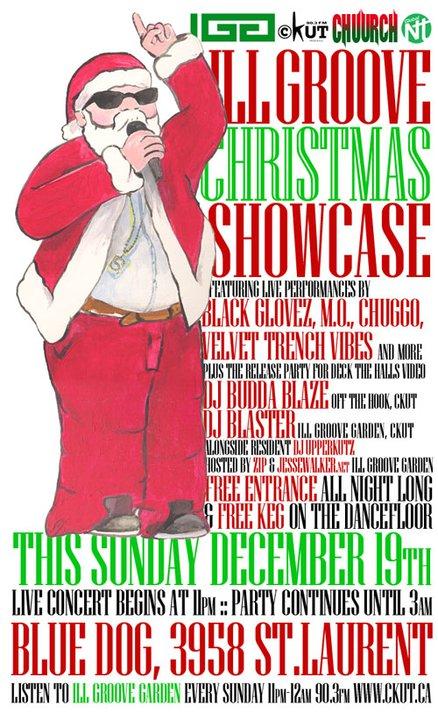 Ill Groove Garden Christmas Showcase